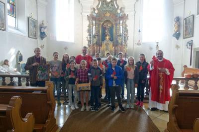 Foto zur Meldung: Pfingstfest in der Pfarreiengemeinschaft mit drei feierlichen Gottesdiensten