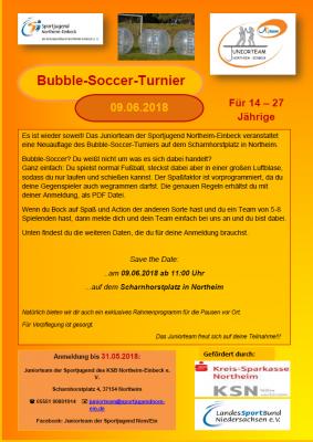 Foto zu Meldung: Bubble-Soccer Turnier