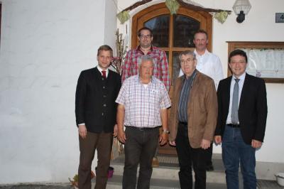 Foto zur Meldung: Der CSU-Ortsverband traf sich zur Jahreshauptversammlung - Arbeitsbericht des Ortsvorsitzenden – langjährige Mitglieder geehrt – ein Neuzugang –