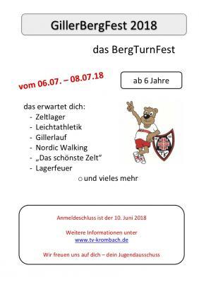 Vorschaubild zur Meldung: GillerBergFest 2018