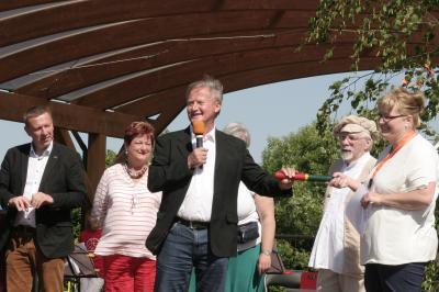 Foto zur Meldung: Großer Besucheransturm beim Oppelhainer Mühlenmarkt