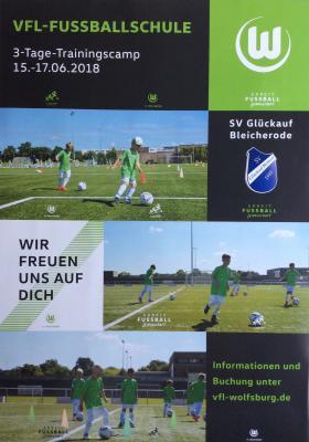 Foto zur Meldung: Fußballcamp des VfL Wolfsburg - Mindestteilnehmerzahl noch nicht erreicht