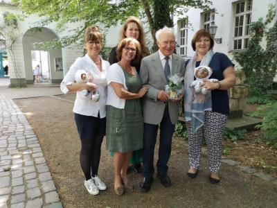 """Foto zur Meldung: Sigmund Jähn live bei """"Menschen im Weltall"""""""