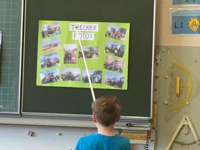 Foto zur Meldung: Expertenstunden in der Klasse 1/2