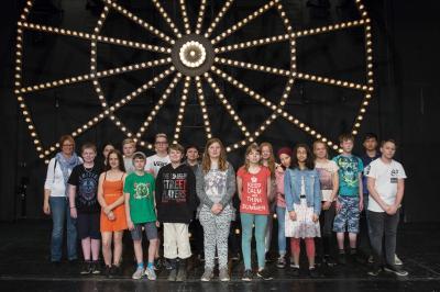Vorschaubild zur Meldung: Jahrgang 6 im Oldenburgischen Staatstheater zu Besuch