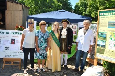 Vorschaubild zur Meldung: NDR Landpartie in Ratzeburg - und der Kultur- und Heimatverein war dabei.