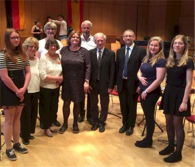 """Foto zu Meldung: """"Musica Mia"""" als Botschafter für Ludwigslust"""