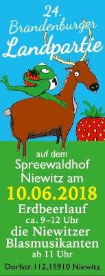 Vorschaubild zur Meldung: 2018: 24. Brandenburger Landpartie & Erdbeerlauf