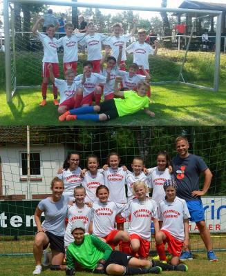 Vorschaubild zur Meldung: Fußballteams feiern Bezirksvizemeisterschaft
