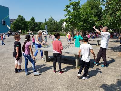 Vorschaubild zur Meldung: Das Recht auf Spielen: Weltspieletag in der SJG