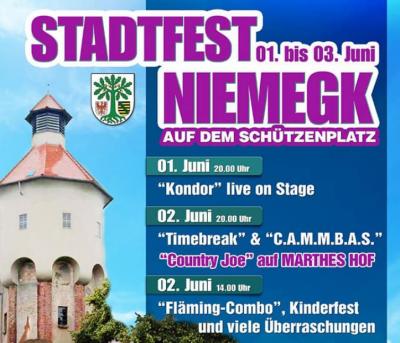 Stadtfest Niemegk