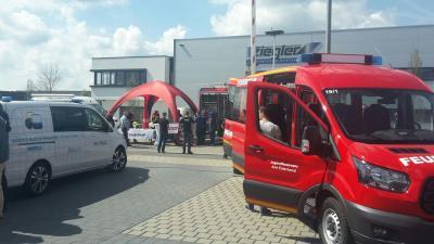 Foto zur Meldung: Teilnahme am Feuerwehr Symposium der Feuerwehr Forchheim