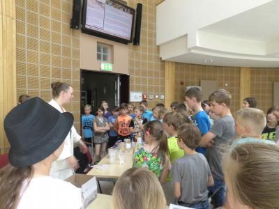 Eindrücke sammelten die Schüler an der BTU reichlich. Foto: privat