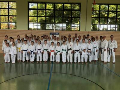 Gruppenbild mit Ishikawa Sensei