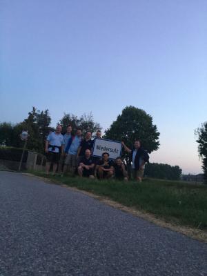 Besuch der Partnerfeuerwehr in Niedersulz