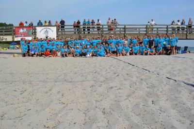 Foto zur Meldung: 27. BeachCup - Seniors aus Berlin gewinnen