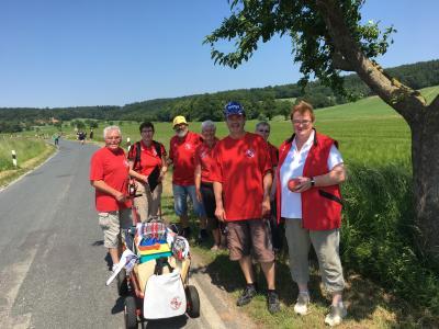 Foto zur Meldung: Boßelturnier in Heckenbeck am 26.05.2018
