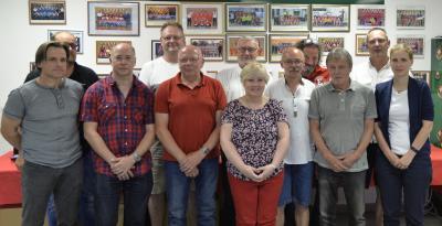 Vorschaubild zur Meldung: Einheit wählt neuen Vorstand