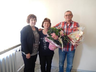 Frau Kramer, Frau Steuck, Herr Brenning