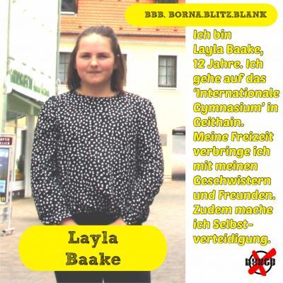 Foto zur Meldung: Unsere Kandidatinnen und Kandidaten - Baake, Layla