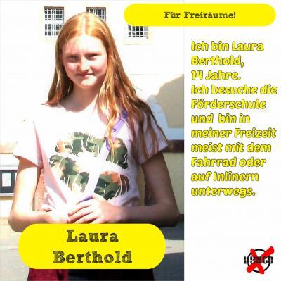 Foto zur Meldung: Unsere Kandidatinnen und Kandidaten -Berthold, Laura