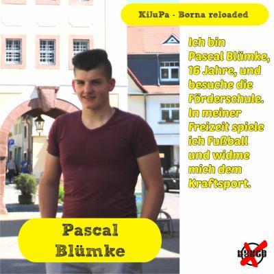 Foto zur Meldung: Unsere Kandidatinnen und Kandidaten - Blümke, Pascal
