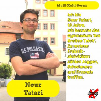 Foto zur Meldung: Unsere Kandidatinnen und Kandidaten - Tatari, Nour