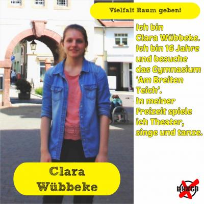 Foto zur Meldung: Unsere Kandidatinnen und Kandidaten - Wübbeke, Clara