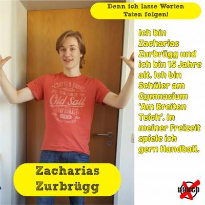 Foto zur Meldung: Unsere Kandidatinnen und Kandidaten - Zurbrügg, Zacharias