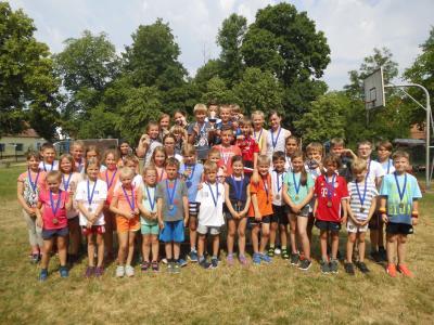 Foto zur Meldung: Fridolin M. mit höchster Punktzahl beim diesjährigen Schulsportfest