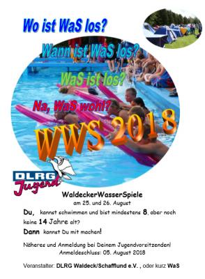 Foto zur Meldung: Einladung zu den Waldeck Wasser Spielen