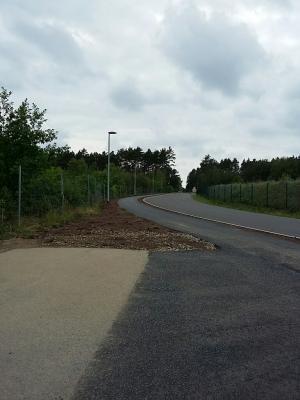 Vorschaubild zur Meldung: Gehwege zur Eisenbahnunterführung wurden befestigt