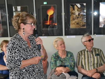 """Foto zur Meldung: Vernissage im Alten Laden:  """"Bronzezeit in Schönermark"""""""