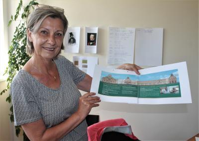 Birgit Hasselbrinck ist die Chefin des künftigen Hotels in Basedow. Sie ist bereits jeden Tag vor Ort.
