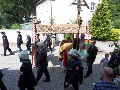 Foto zur Meldung: Fronleichnamsfest 2018