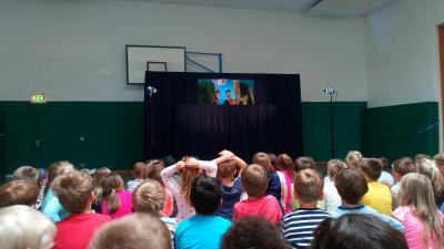 Vorschaubild zur Meldung: Aufführung der Puppenbühne Freiburg