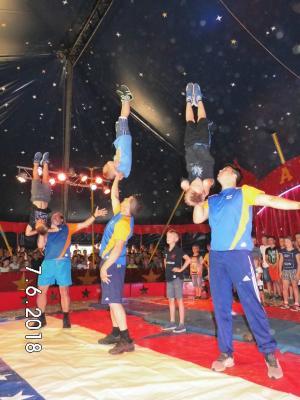 Foto zur Meldung: Zirkusprojekt