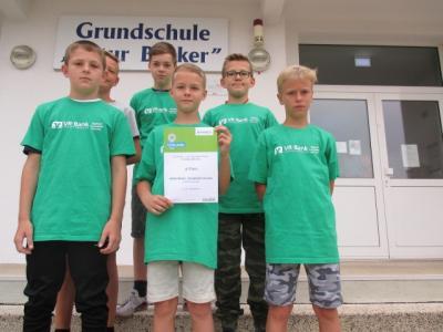 Teilnehmer der Jungenstaffel Klassen 4 bis 6