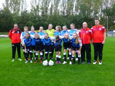 Vorschaubild zur Meldung: Bronze für die FC Anker Wismar B-Mädchen
