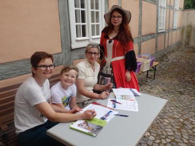 Foto zu Meldung: Heimat-Quiz zum Altstadtfest am 2. Juni 2018  Bibliothek Am Markt 3