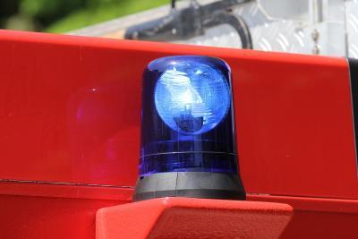 Foto zur Meldung: Einsatz für die Wehr – Unfall auf der B430