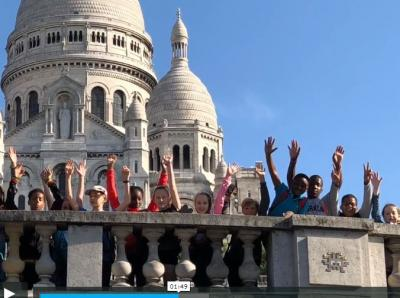 Vorschaubild zur Meldung: Classe 5a - Film souvenir - Paris - Mai 2018