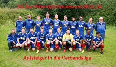Foto zur Meldung: Aufstiegstraum wird wahr – Fußballer nun in der Verbandsliga