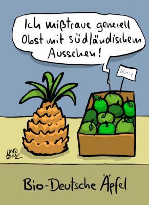 Cartoon von Dorthe Landschulz