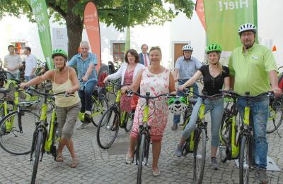 Foto zu Meldung: Mit dem E-Bike bald kreuz und quer durch Elbe-Elster