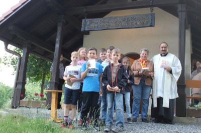Foto zur Meldung: Letzte Maiandacht in Viechtafell