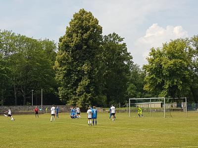 Foto zur Meldung: B-Junioren mit Unentschieden beim Tabellennachbarn