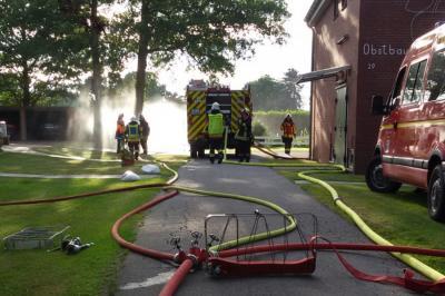 Vorschaubild zur Meldung: Feuerwehr und Jugendfeuerwehr üben gemeinsam