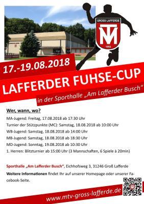 Vorschaubild zur Meldung: Drei hochklassige Handballtage beim Lafferder Fuhse-Cup