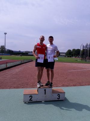 Vorschaubild zur Meldung: Matthias Beutin wird Landesmeister bei den Aktiven